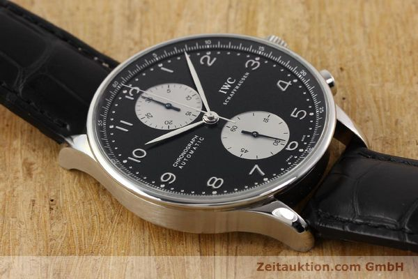 Used luxury watch IWC Portugieser steel automatic Kal. C.79240 Ref. 3714  | 141653 15