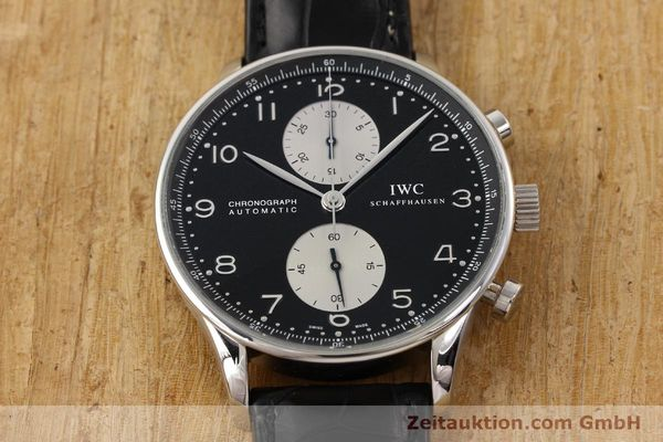 Used luxury watch IWC Portugieser steel automatic Kal. C.79240 Ref. 3714  | 141653 16