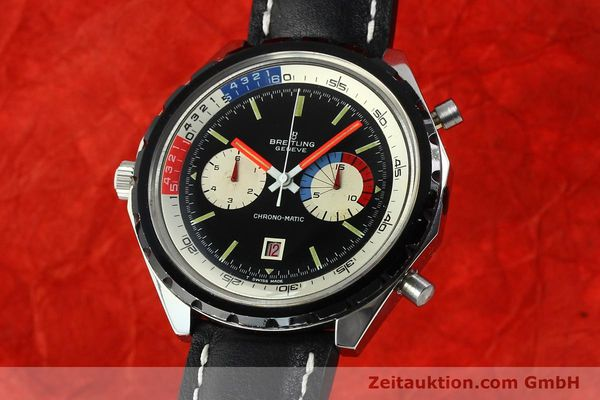 Used luxury watch Breitling Chronomat(ic) chronograph steel automatic Kal. 11 Ref. 7661  | 141655 04