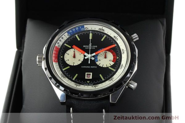 Used luxury watch Breitling Chronomat(ic) chronograph steel automatic Kal. 11 Ref. 7661  | 141655 07