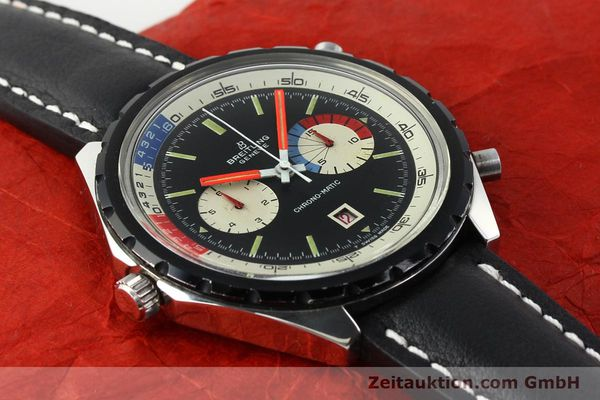 Used luxury watch Breitling Chronomat(ic) chronograph steel automatic Kal. 11 Ref. 7661  | 141655 11