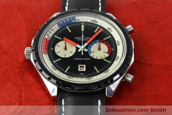 Used luxury watch Breitling Chronomat(ic) chronograph steel automatic Kal. 11 Ref. 7661  | 141655 12