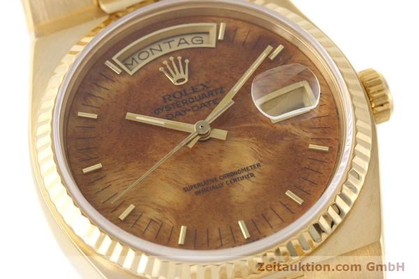 Used luxury watch Rolex Day-Date 18 ct gold quartz Kal. 5055 Ref. 19018  | 141657 02