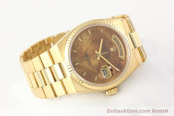 Used luxury watch Rolex Day-Date 18 ct gold quartz Kal. 5055 Ref. 19018  | 141657 03