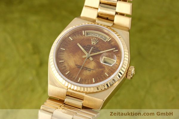 Used luxury watch Rolex Day-Date 18 ct gold quartz Kal. 5055 Ref. 19018  | 141657 04