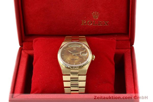 Used luxury watch Rolex Day-Date 18 ct gold quartz Kal. 5055 Ref. 19018  | 141657 07