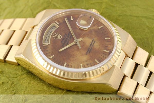Used luxury watch Rolex Day-Date 18 ct gold quartz Kal. 5055 Ref. 19018  | 141657 15