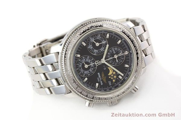 Used luxury watch Breitling Astromat steel automatic Kal. B19 ETA 2892-2 Ref. A19406  | 141658 03