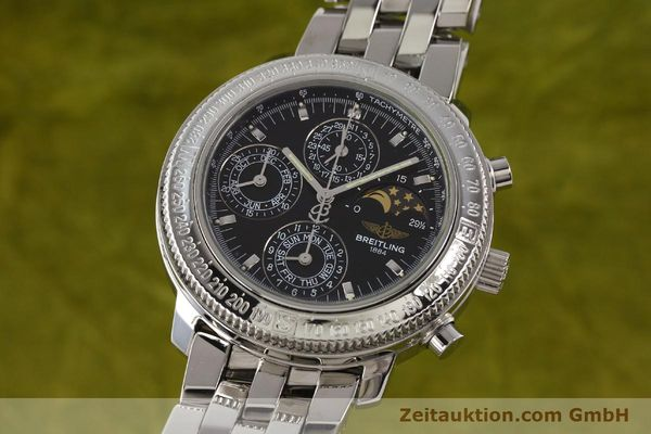 Used luxury watch Breitling Astromat steel automatic Kal. B19 ETA 2892-2 Ref. A19406  | 141658 04