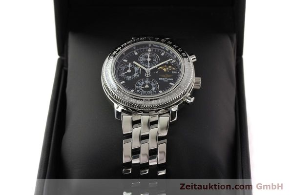 Used luxury watch Breitling Astromat steel automatic Kal. B19 ETA 2892-2 Ref. A19406  | 141658 07