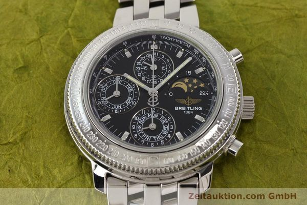 Used luxury watch Breitling Astromat steel automatic Kal. B19 ETA 2892-2 Ref. A19406  | 141658 16