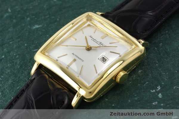 Used luxury watch IWC * 18 ct gold automatic Kal. C.8521  | 141661 01