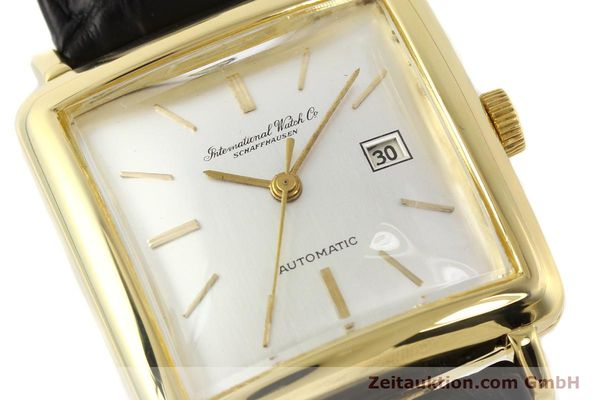 Used luxury watch IWC * 18 ct gold automatic Kal. C.8521  | 141661 02
