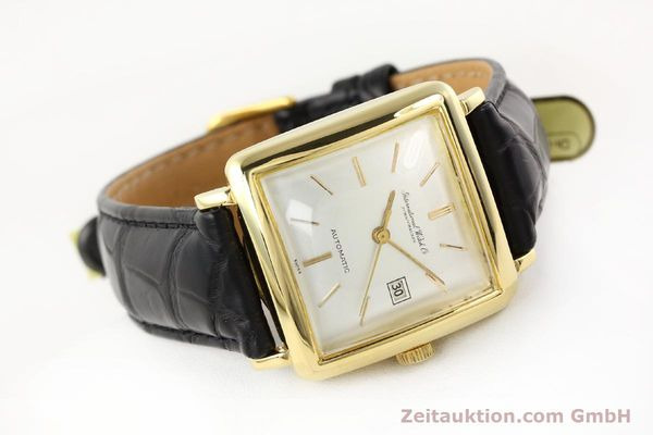 Used luxury watch IWC * 18 ct gold automatic Kal. C.8521  | 141661 03