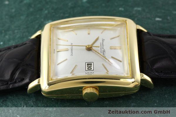 Used luxury watch IWC * 18 ct gold automatic Kal. C.8521  | 141661 05