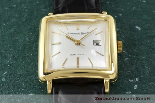 Used luxury watch IWC * 18 ct gold automatic Kal. C.8521  | 141661 13