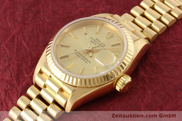 Used luxury watch Rolex Lady Datejust 18 ct gold automatic Kal. 2135 Ref. 69178  | 141665 01