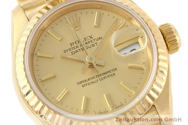 Used luxury watch Rolex Lady Datejust 18 ct gold automatic Kal. 2135 Ref. 69178  | 141665 02