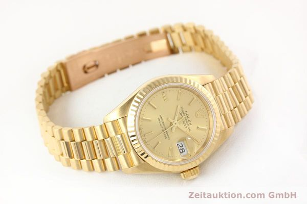 Used luxury watch Rolex Lady Datejust 18 ct gold automatic Kal. 2135 Ref. 69178  | 141665 03