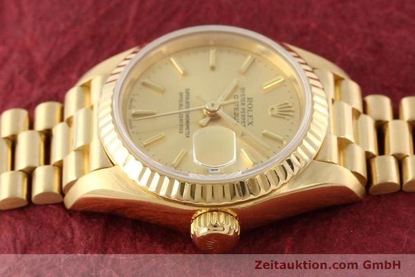 Used luxury watch Rolex Lady Datejust 18 ct gold automatic Kal. 2135 Ref. 69178  | 141665 05