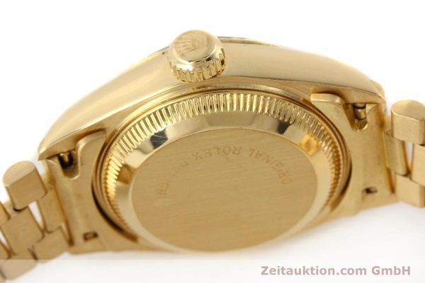 Used luxury watch Rolex Lady Datejust 18 ct gold automatic Kal. 2135 Ref. 69178  | 141665 11