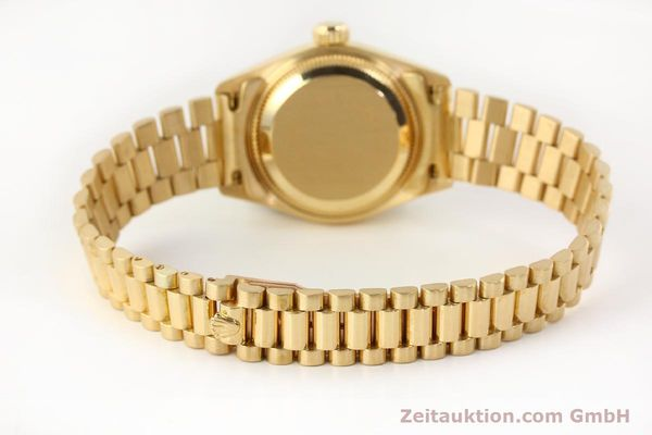 Used luxury watch Rolex Lady Datejust 18 ct gold automatic Kal. 2135 Ref. 69178  | 141665 12