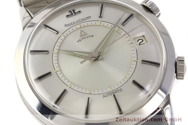 Used luxury watch Jaeger Le Coultre Memovox steel automatic Kal. K825  | 141667 02