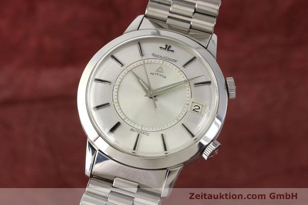 Used luxury watch Jaeger Le Coultre Memovox steel automatic Kal. K825  | 141667 04