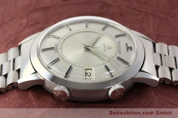 Used luxury watch Jaeger Le Coultre Memovox steel automatic Kal. K825  | 141667 05