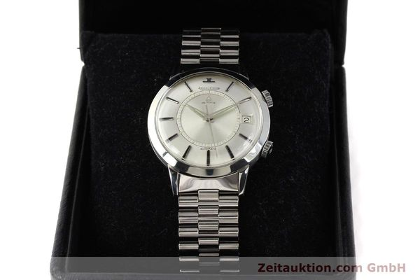 Used luxury watch Jaeger Le Coultre Memovox steel automatic Kal. K825  | 141667 07