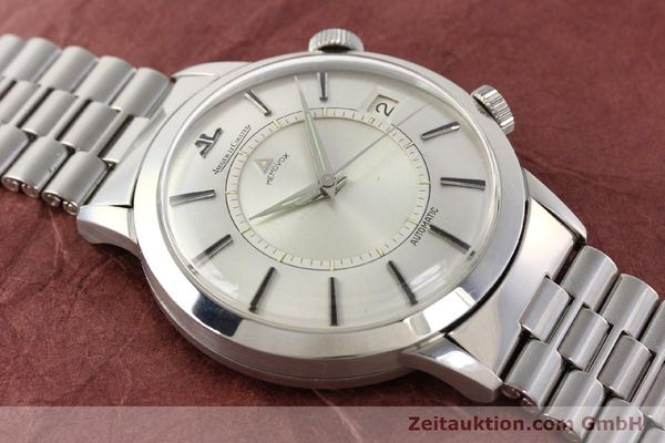Used luxury watch Jaeger Le Coultre Memovox steel automatic Kal. K825  | 141667 14
