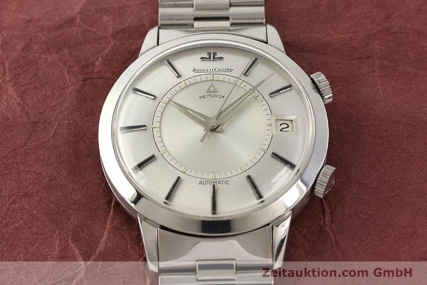 Used luxury watch Jaeger Le Coultre Memovox steel automatic Kal. K825  | 141667 15