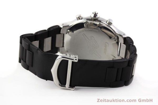 Used luxury watch Cartier Chronoscaph 21 steel quartz Kal. 272 ETA 251272  | 141670 10