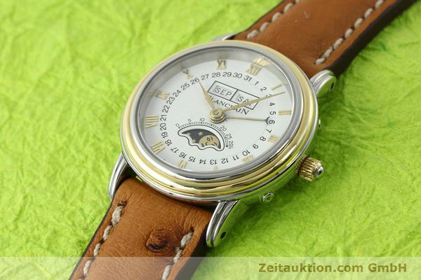 Used luxury watch Blancpain Villeret steel / gold automatic Kal. 95  | 141671 01