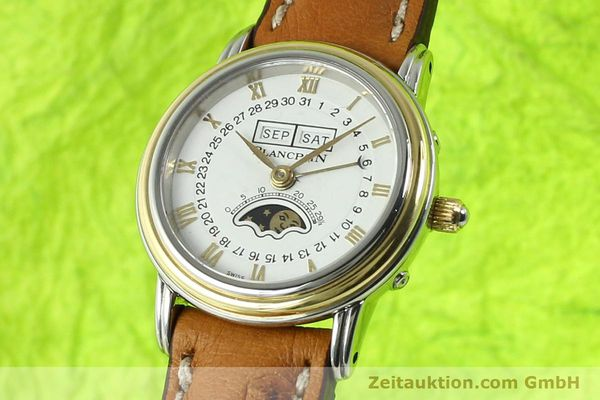 Used luxury watch Blancpain Villeret steel / gold automatic Kal. 95  | 141671 04