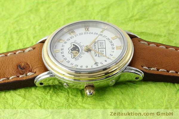 Used luxury watch Blancpain Villeret steel / gold automatic Kal. 95  | 141671 05