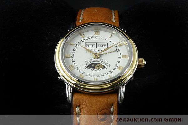Used luxury watch Blancpain Villeret steel / gold automatic Kal. 95  | 141671 07