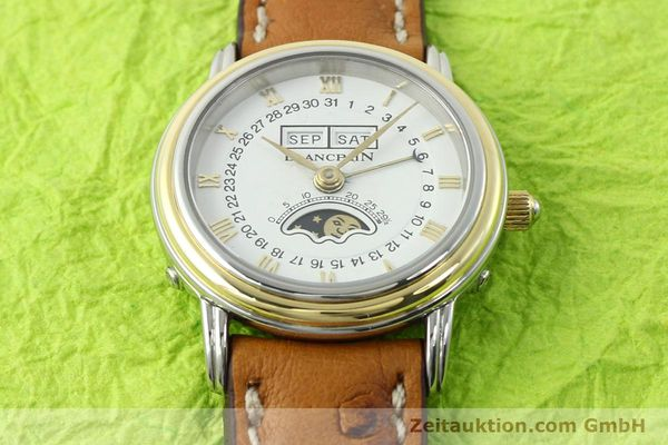 Used luxury watch Blancpain Villeret steel / gold automatic Kal. 95  | 141671 14