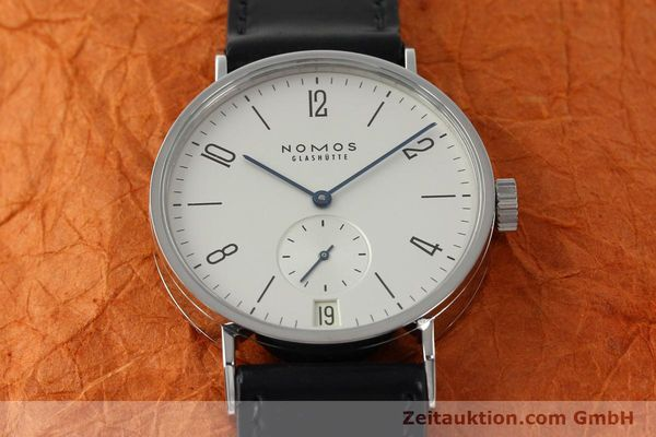 Used luxury watch Nomos Tangomat steel automatic  | 141673 15