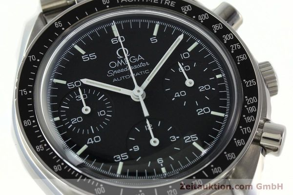 Used luxury watch Omega Speedmaster chronograph steel automatic Kal. 1143 ETA 2890A2 Ref. 35105000  | 141674 02