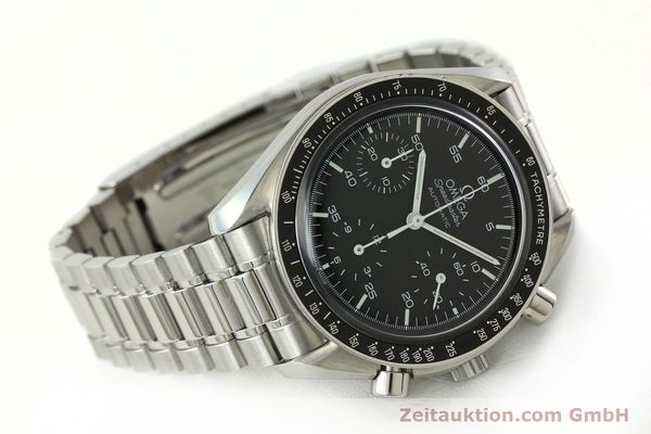 Used luxury watch Omega Speedmaster chronograph steel automatic Kal. 1143 ETA 2890A2 Ref. 35105000  | 141674 03