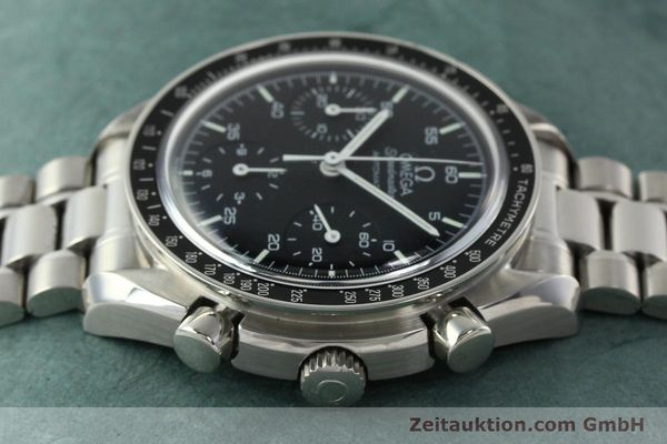 Used luxury watch Omega Speedmaster chronograph steel automatic Kal. 1143 ETA 2890A2 Ref. 35105000  | 141674 05