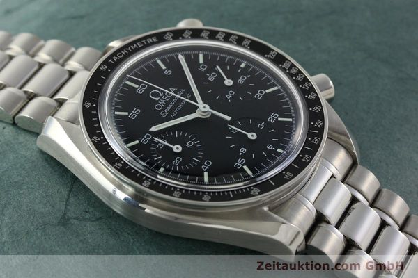 Used luxury watch Omega Speedmaster chronograph steel automatic Kal. 1143 ETA 2890A2 Ref. 35105000  | 141674 16