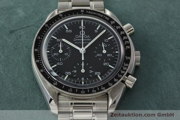 Used luxury watch Omega Speedmaster chronograph steel automatic Kal. 1143 ETA 2890A2 Ref. 35105000  | 141674 17