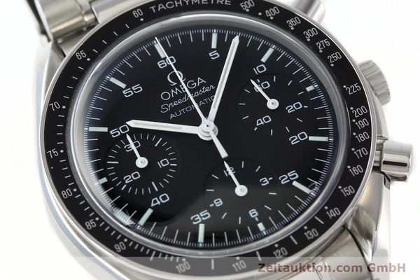 Used luxury watch Omega Speedmaster chronograph steel automatic Kal. 3220A  | 141675 02