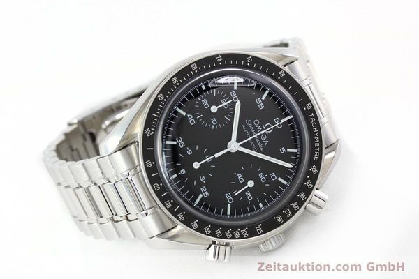 Used luxury watch Omega Speedmaster chronograph steel automatic Kal. 3220A  | 141675 03