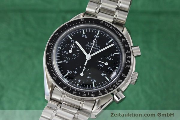 Used luxury watch Omega Speedmaster chronograph steel automatic Kal. 3220A  | 141675 04