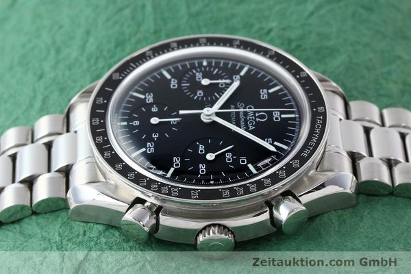 Used luxury watch Omega Speedmaster chronograph steel automatic Kal. 3220A  | 141675 05