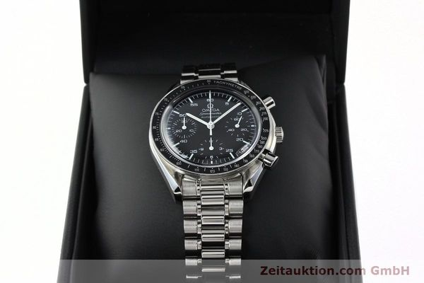 Used luxury watch Omega Speedmaster chronograph steel automatic Kal. 3220A  | 141675 07