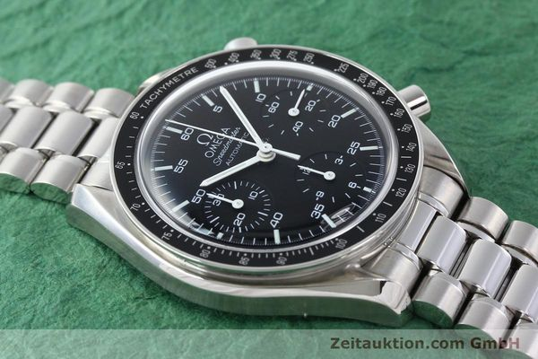 Used luxury watch Omega Speedmaster chronograph steel automatic Kal. 3220A  | 141675 15